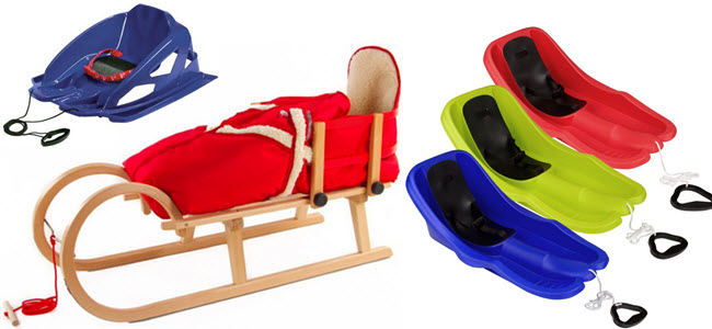 Pinolino Babyschlitten mit Fußsack, Alpenbambino & Sport Otto Baby Bob