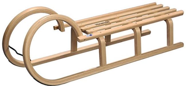 Klassischer Holz-Hörnerschlitten Hörnerrodel von RPL-Trading