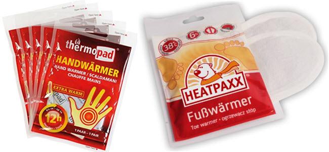 Thermopad Handwärmer Heatpaxx Fußwärmer